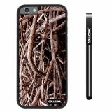 Apple iphone 6 4.7 inch Case Hard PC Straw Grass Mossy Camo weed Staggered Black Shell Single Layer Protective Case (3)