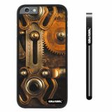 Apple iphone 6 4.7 inch Case Hard PC Retro Gear machinery Black Shell Single Layer Protective Case (8)