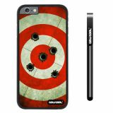 Apple iphone 6 4.7 inch Case Hard PC bullet on target Black Shell Single Layer Protective Case (13)