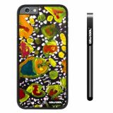 Apple iphone 6 4.7 inch Case Hard PC Colorful kid Watercolor Fish Competition food Black Shell Single Layer Protective Case (21)