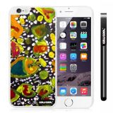 Apple Iphone 6 Plus 5.5 Inch Case Hard PC Colorful kid Watercolor Fish Competition food White Shell Single Layer Protective Case (21)