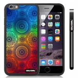 Apple iphone 6 4.7 Inch Soft Silicone Maya Atlantis Totem Black Shell Single Layer Protective Case (9)