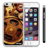 Apple iphone 6 4.7 Inch Soft Silicone Gear Transparent Shell Single Layer Protective Case (9)