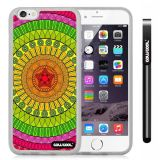 Apple iphone 6 4.7 Inch Soft Silicone Atlantis Maya Tribal Transparent Shell Single Layer Protective Case (2)
