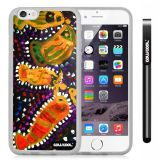Apple iphone 6 4.7 Inch Soft Silicone Colorful kid Watercolor Fish Competition food Transparent Shell Single Layer Protective Case (19)