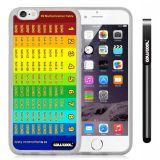 Apple iphone 6 4.7 inch Case Magic algorithms 99 Multiplication Table Transparent Shell Single Layer Protective Case (Style3)