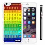 Apple iphone 6 4.7 inch Case Magic algorithms 99 Multiplication Table White Shell Single Layer Protective Case (Style3)