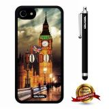 iphone 8 Case, iphone 7 Case, London Case, Cowcool Ultra Thin Soft Silicone Case for Apple iphone 7 - London Continental Bridge I Love London