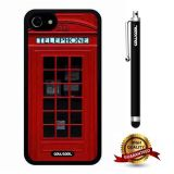 iphone 8 Case, iphone 7 Case, London Case, Cowcool Ultra Thin Soft Silicone Case for Apple iphone 7 - London Street Red Telephone Booth