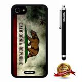 iphone 8 Case, iphone 7 Case, California Case, Cowcool Ultra Thin Soft Silicone Case for Apple iphone 7 - California State Fla