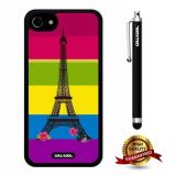 iphone 8 Case, iphone 7 Case, Eiffel Case, Cowcool Ultra Thin Soft Silicone Case for Apple iphone 7 - Color D Eiffel