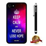 iphone 8 Case, iphone 7 Case, Maxim Case, Cowcool Ultra Thin Soft Silicone Case for Apple iphone 7 - Starry Keep Calm Never Lose Hope