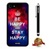 iphone 8 Case, iphone 7 Case, Maxim Case, Cowcool Ultra Thin Soft Silicone Case for Apple iphone 7 - Starry Be Happy Stay Happy