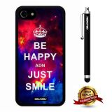 iphone 8 Case, iphone 7 Case, Maxim Case, Cowcool Ultra Thin Soft Silicone Case for Apple iphone 7 - Starry Be Happy Just Smile