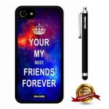 iphone 8 Case, iphone 7 Case, Maxim Case, Cowcool Ultra Thin Soft Silicone Case for Apple iphone 7 - Starry You My Best Friends Forever