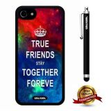 iphone 8 Case, iphone 7 Case, Maxim Case, Cowcool Ultra Thin Soft Silicone Case for Apple iphone 7 - Starry True Friends Stay Together Forever