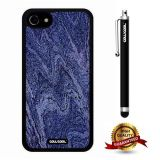 iphone 8 Case, iphone 7 Case, Marble Pattern Case, Cowcool Ultra Thin Soft Silicone Case for Apple iphone 7 - Navy Camo Marble Texture