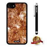 iphone 8 Case, iphone 7 Case, Marble Pattern Case, Cowcool Ultra Thin Soft Silicone Case for Apple iphone 7 - Ultrasonic Yellow Marble Texture