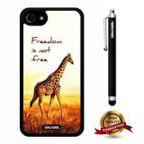 iphone 8 Case, iphone 7 Case, Giraffe Case, Cowcool Ultra Thin Soft Silicone Case for Apple iphone 7 - Freedom Is Not Free Giraffe