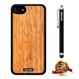 iphone 8 Case, iphone 7 Case, Wood Texture Case, Cowcool Ultra Thin Soft Silicone Case for Apple iphone 7 - Fossil Vertical S Wood Texture