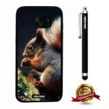 Galaxy S7 edge Case, Squirrel Case, Cowcool Ultra Thin Soft Silicone Case for Samsung Galaxy S7 edge - Squirrel