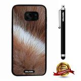 Galaxy S7 edge Case, Skin Texture Case, Cowcool Ultra Thin Soft Silicone Case for Samsung Galaxy S7 edge - Macaque Skin