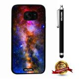 Galaxy S7 edge Case, Starry Case, Cowcool Ultra Thin Soft Silicone Case for Samsung Galaxy S7 edge - Queer Rainbow Colorful Starry
