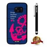 Galaxy S7 Case, Anchor Case, Cowcool Ultra Thin Soft Silicone Case for Samsung Galaxy S7 - Anchor Drop Anchor Where Your Love I