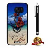 Galaxy S7 Case, Anchor Case, Cowcool Ultra Thin Soft Silicone Case for Samsung Galaxy S7 - Anchor Live The Life You Love