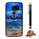 Galaxy S7 Case, Anchor Case, Cowcool Ultra Thin Soft Silicone Case for Samsung Galaxy S7 - Anchor A Smooth Sea Never Made