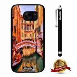 Galaxy S7 Case, Scenery Case, Cowcool Ultra Thin Soft Silicone Case for Samsung Galaxy S7 - Tokyo Tower, Japan