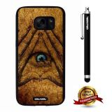 Galaxy S7 Case, All Eyes Case, Cowcool Ultra Thin Soft Silicone Case for Samsung Galaxy S7 - All Eyes In Hand