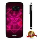 Galaxy S7 Case, All Eyes Case, Cowcool Ultra Thin Soft Silicone Case for Samsung Galaxy S7 - Sci Fi All Eye
