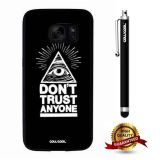 Galaxy S7 Case, All Eyes Case, Cowcool Ultra Thin Soft Silicone Case for Samsung Galaxy S7 - All Eyes Do Not Trust Anyone