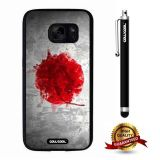 Galaxy S7 Case, Japanese Case, Cowcool Ultra Thin Soft Silicone Case for Samsung Galaxy S7 - Japanese Fla