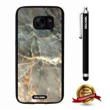 Galaxy S7 Case, Marble Pattern Case, Cowcool Ultra Thin Soft Silicone Case for Samsung Galaxy S7 - Oblique Section Marble Texture