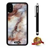 iPhone X Case, Marble Pattern Case, Cowcool Ultra Thin Soft Silicone Case for Apple iPhone 10 - Clouds Cascade Marble Texture