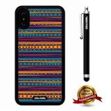 iPhone X Case, Tribal Case, Cowcool Ultra Thin Soft Silicone Case for Apple iPhone 10 - Tribal Atlantis Maya National