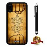 iPhone X Case, Maxim Case, Cowcool Ultra Thin Soft Silicone Case for Apple iPhone 10 - You Want Most What You Whant Now