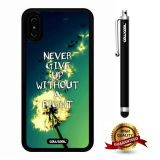 iPhone X Case, Maxim Case, Cowcool Ultra Thin Soft Silicone Case for Apple iPhone 10 - Never Give Up Without A Fight Dandelion