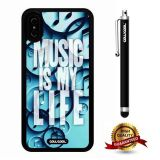 iPhone X Case, Music Case, Cowcool Ultra Thin Soft Silicone Case for Apple iPhone 10 - Music Is My Life