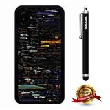 iPhone X Case, Weapons Case, Cowcool Ultra Thin Soft Silicone Case for Apple iPhone 10 - Future Interplanetary Arsenal Universe