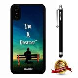 iPhone X Case, Scenery Case, Cowcool Ultra Thin Soft Silicone Case for Apple iPhone 10 - Bench I Am Dreamer