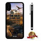 iPhone X Case, Scenery Case, Cowcool Ultra Thin Soft Silicone Case for Apple iPhone 10 - Bird Never Give Up On Something You Can Not Go