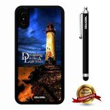 iPhone X Case, Scenery Case, Cowcool Ultra Thin Soft Silicone Case for Apple iPhone 10 - Rocky Lighthouse Dreaming Is Like A Tower