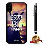 iPhone X Case, Scenery Case, Cowcool Ultra Thin Soft Silicone Case for Apple iPhone 10 - Victory Gesture Do Not Worry Be Happy