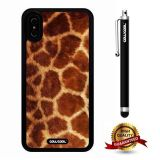 iPhone X Case, Skin Texture Case, Cowcool Ultra Thin Soft Silicone Case for Apple iPhone 10 - Giraffe Skin