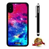 iPhone X Case, Starry Case, Cowcool Ultra Thin Soft Silicone Case for Apple iPhone 10 - Amaze Rainbow Colorful Starry