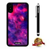 iPhone X Case, Starry Case, Cowcool Ultra Thin Soft Silicone Case for Apple iPhone 10 - Curious Rainbow Colorful Starry