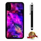 iPhone X Case, Starry Case, Cowcool Ultra Thin Soft Silicone Case for Apple iPhone 10 - Funny Rainbow Colorful Starry